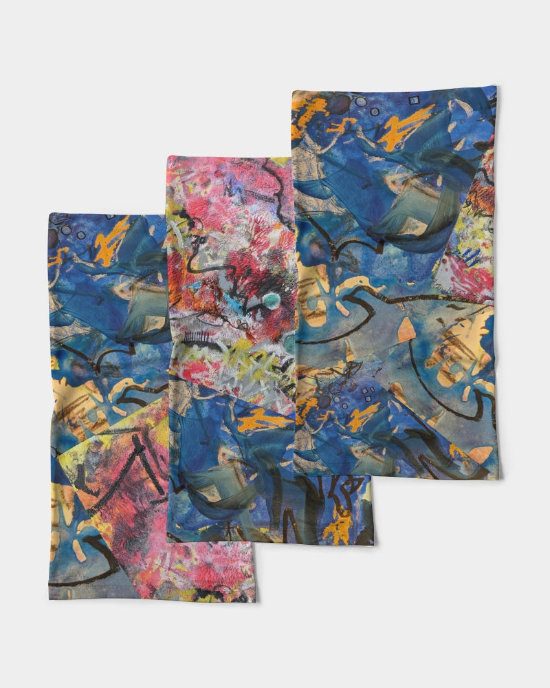"""Imagination Runs"" Neck Gaiter Set - David Austin Gallery"