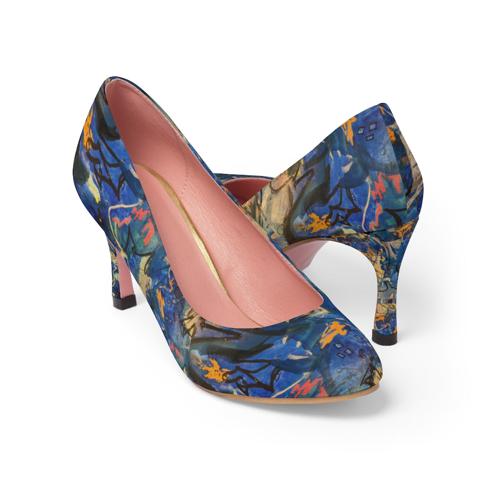 """Imagination Runs"" Women's High Heels - David Austin Gallery"