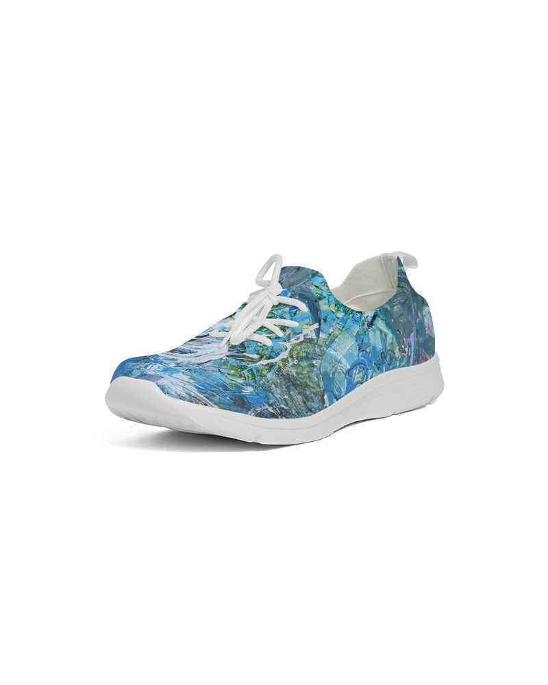 """Day At The Beach"" Women's Lace Up Flyknit Shoe - David Austin Gallery"