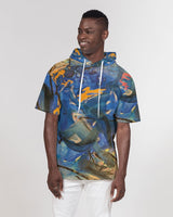 """Imagination Runs"" Men's Premium Heavyweight Short Sleeve Hoodie - David Austin Gallery"