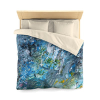 """Day At The Beach"" Duvet Cover - David Austin Gallery"