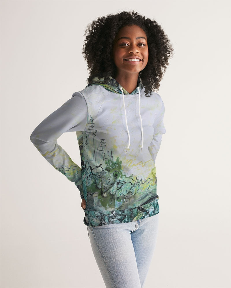 Woods and Mountains Dreamed Of Women's Hoodie - David Austin Gallery