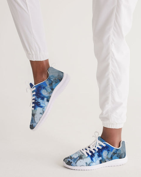 """Blue Lily"" Women's Athletic Shoe"