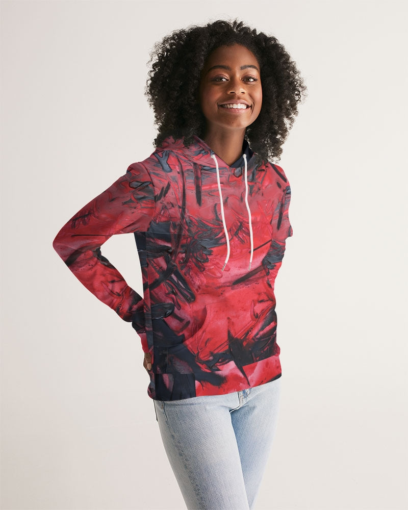 """Cooling Lava"" Women's Hoodie - David Austin Gallery"