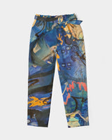 """Imagination Runs"" Women's Belted Tapered Pants - David Austin Gallery"