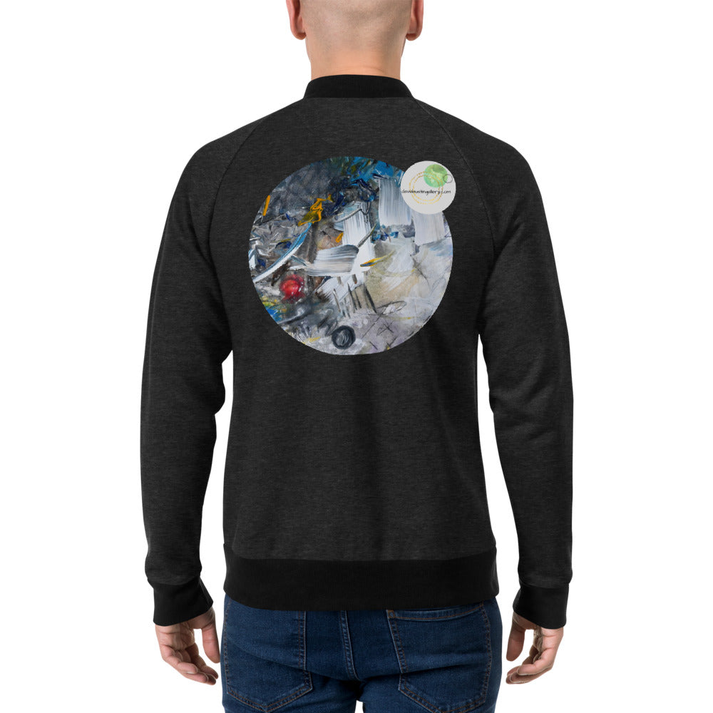 Bomber Jacket Featuring Pop Out David Austin Original Artwork Print - David Austin Gallery