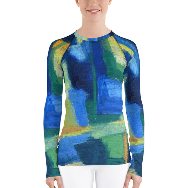 """Hale"" Inspired Women's Rash Guard UVA Blocking - David Austin Gallery"