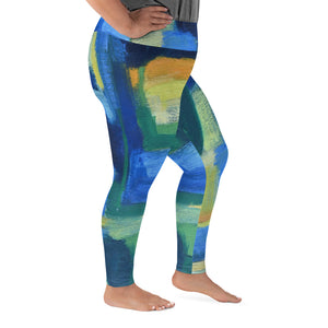 """Hale"" Every Size Leggings - David Austin Gallery"