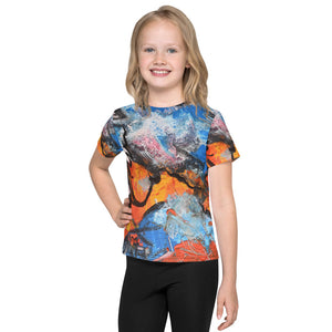 "Open image in slideshow, ""Ta-Da"" Kids T-Shirt - David Austin Gallery"