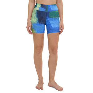 "Open image in slideshow, Yoga Shorts ""Hale"" - David Austin Gallery"