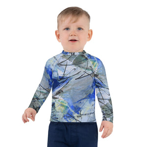Open image in slideshow, Original Art Inspired Kids Rash Guard and UV Blocking Shirt - David Austin Gallery