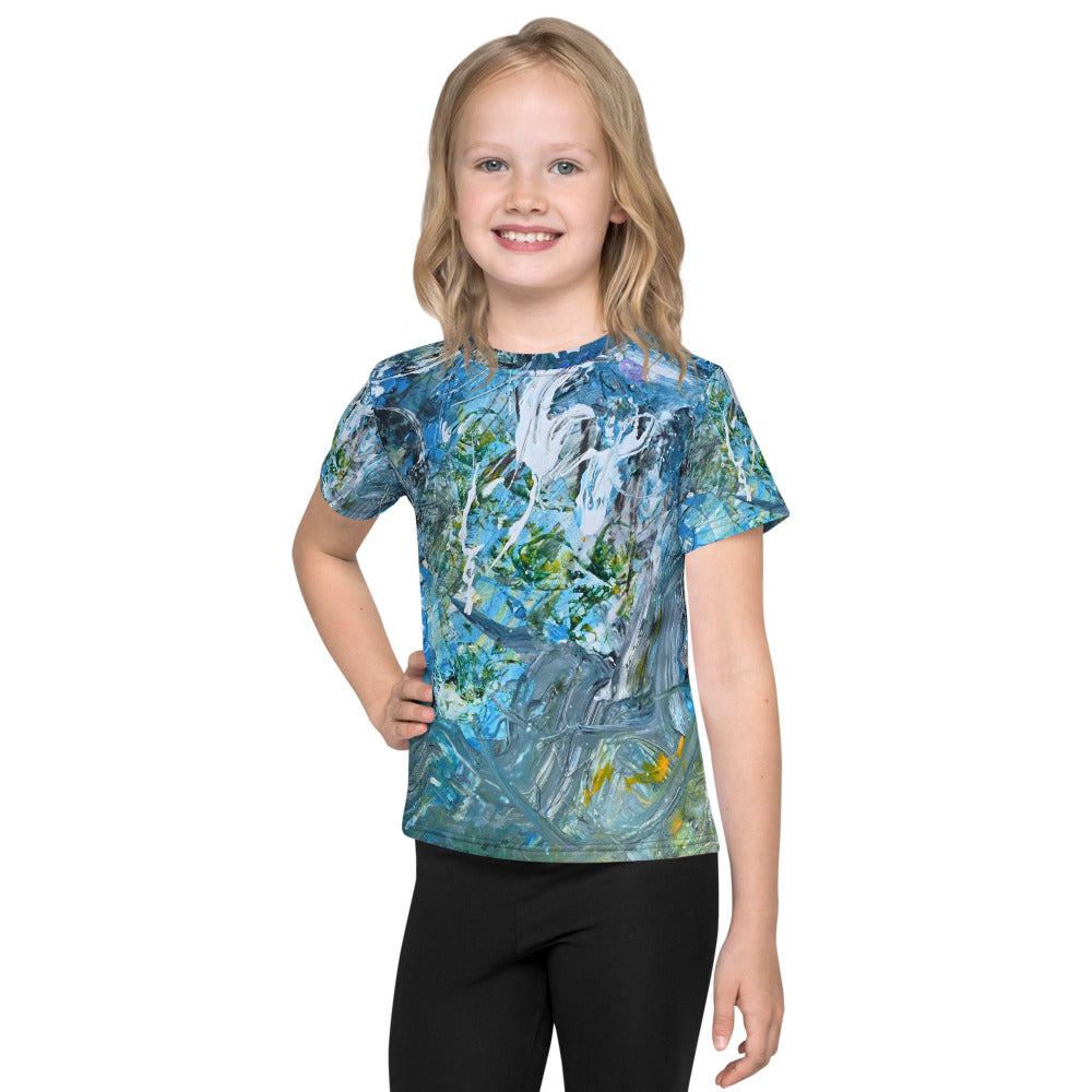 All Over Print Kids T-Shirt - David Austin Gallery
