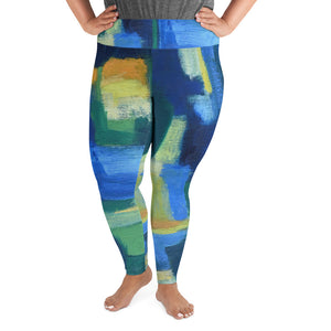 "Open image in slideshow, ""Hale"" Every Size Leggings - David Austin Gallery"