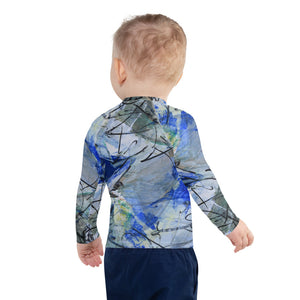 Original Art Inspired Kids Rash Guard and UV Blocking Shirt - David Austin Gallery