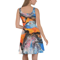 """Sunrise"" Casual Skater Dress - David Austin Gallery"
