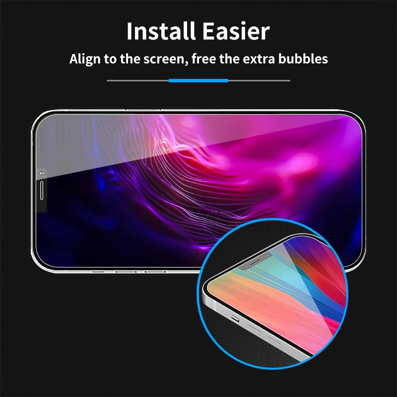 Antimicrobial Treated Privacy Screen Protector- Phones