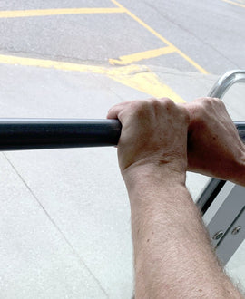 Antimicrobial Push Bars & Pull Door Handles