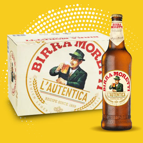 Birra Morreti - 24 x 330ml bottles