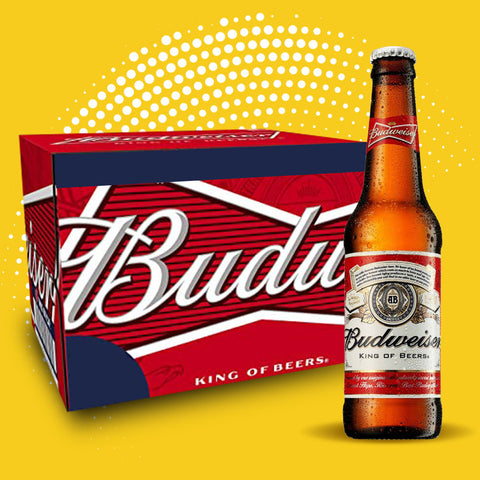 Budweiser - 24 x 330ml bottles