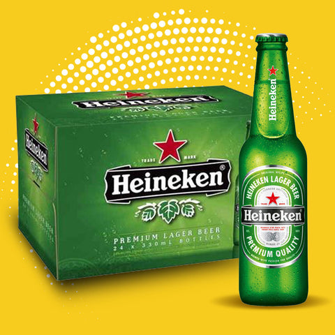 Heineken - 24 x 330ml bottles