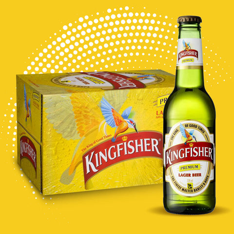 Kingfisher - 24 x 330ml bottles