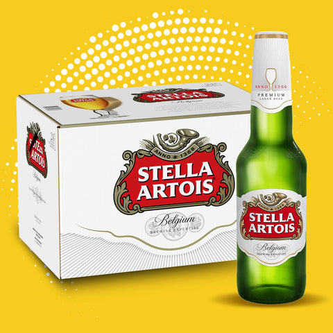 Stella Artois - 24 x 330ml bottles