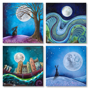 Art Card Set - Moon