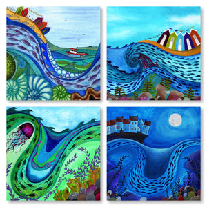 Art Card Set - Ocean