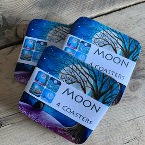 Moon - Coaster Set