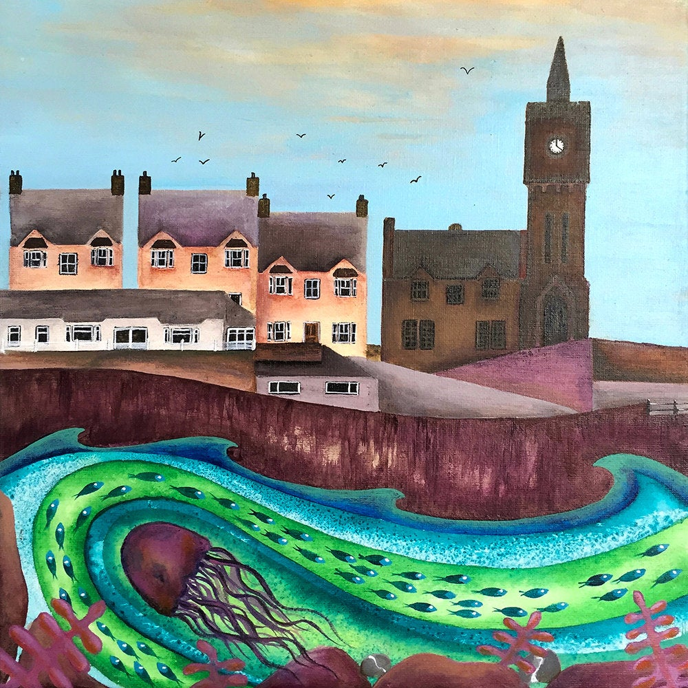 Beneath the Clock Tower, Porthleven - Limited Edition Print