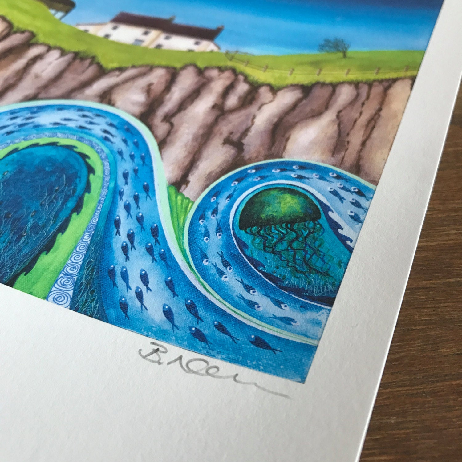 The Rising Swell - Limited Edition Print
