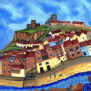 Beach Walk, Whitby - Limited Edition Print