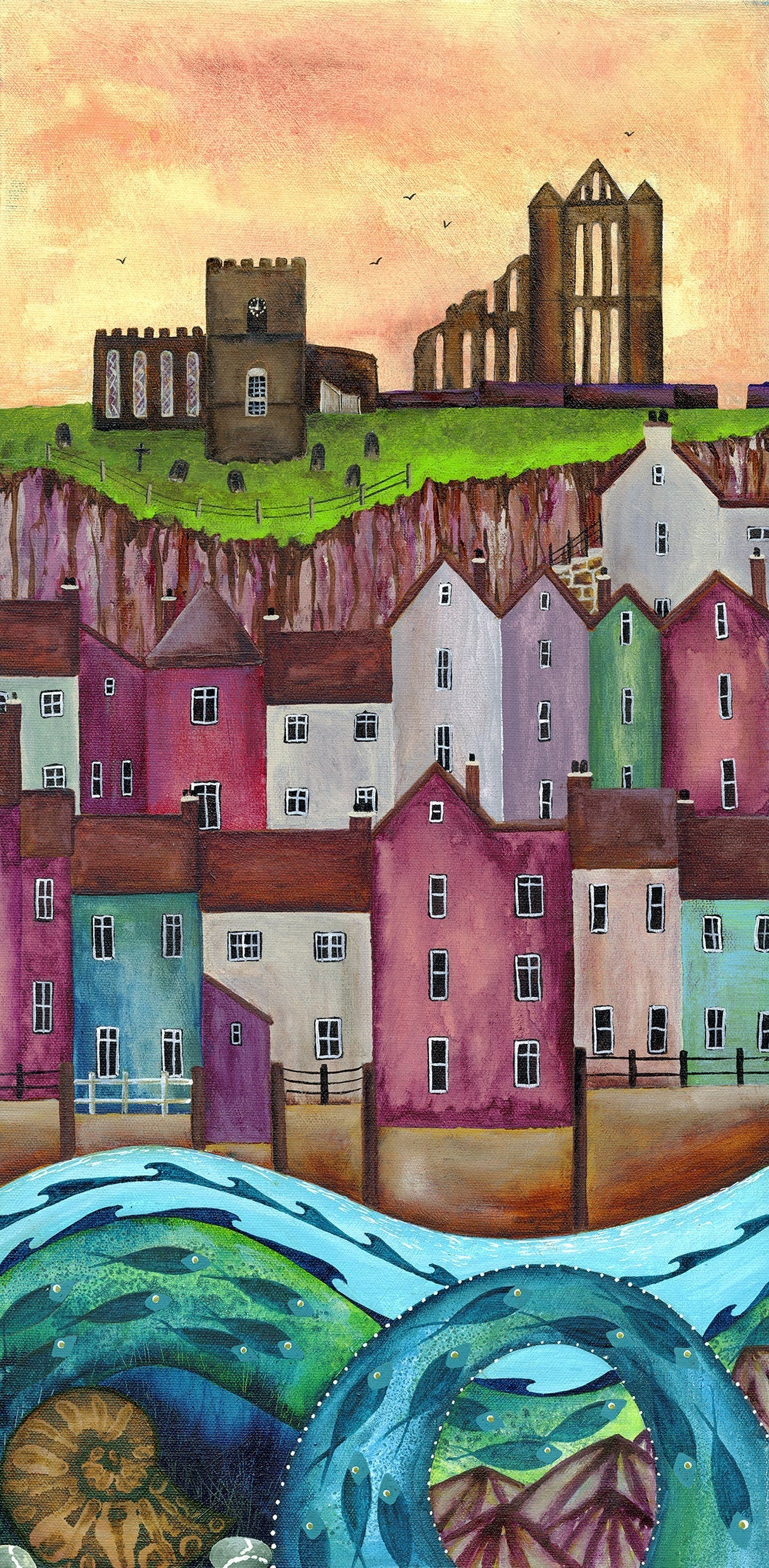 Harbour Views, Whitby - Limited Edition Print