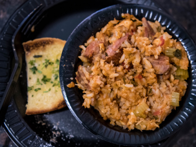 jambalaya in a bowl
