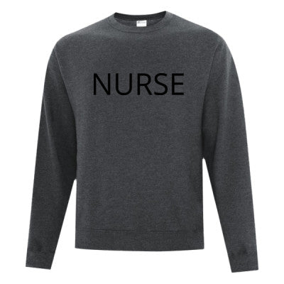 Basic Nurse Sweatshirt Understated