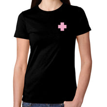 Load image into Gallery viewer, Pink Cross Tee