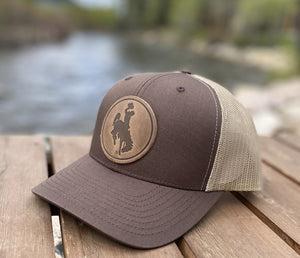 Range Leather Steamboat Hat