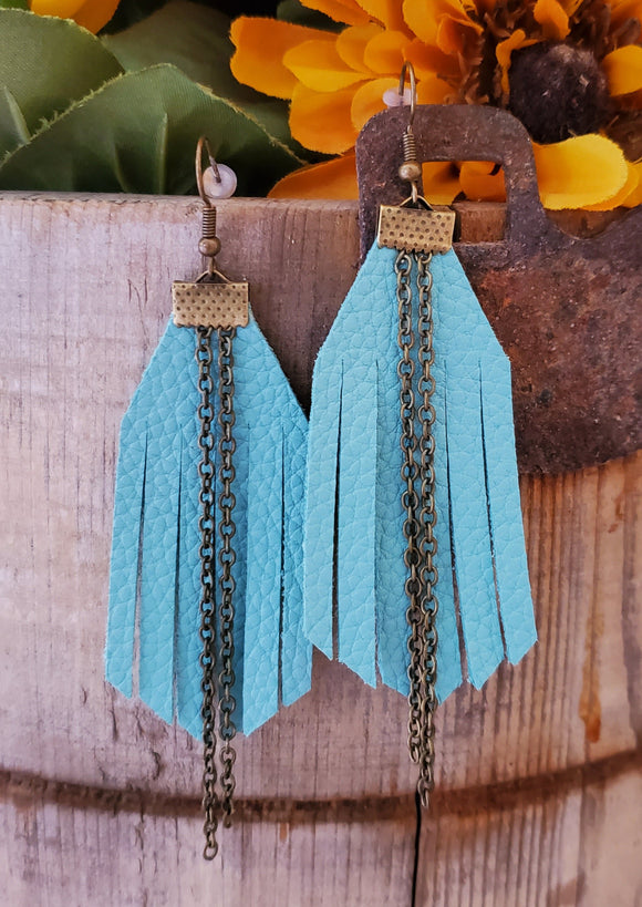 Mona Fringe Earrings