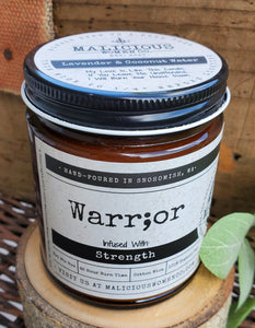 Warrior: Infused With Strength
