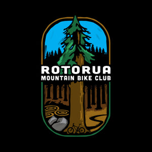 Rotorua MTB Club Womens Long Sleeve T
