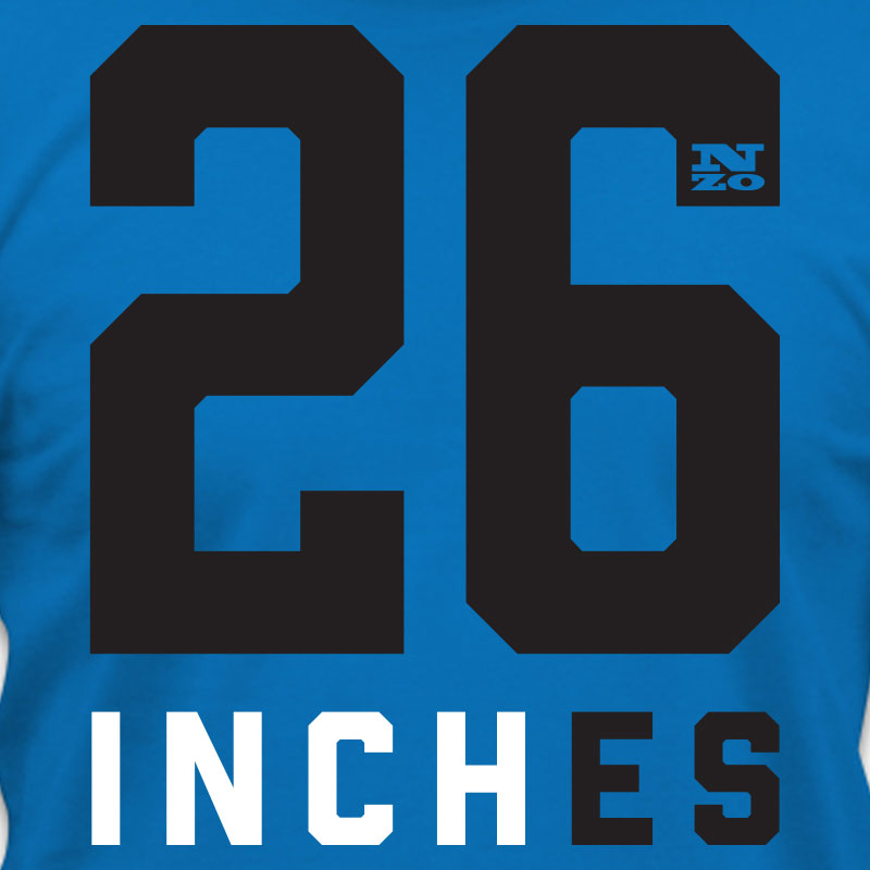 26Inches T