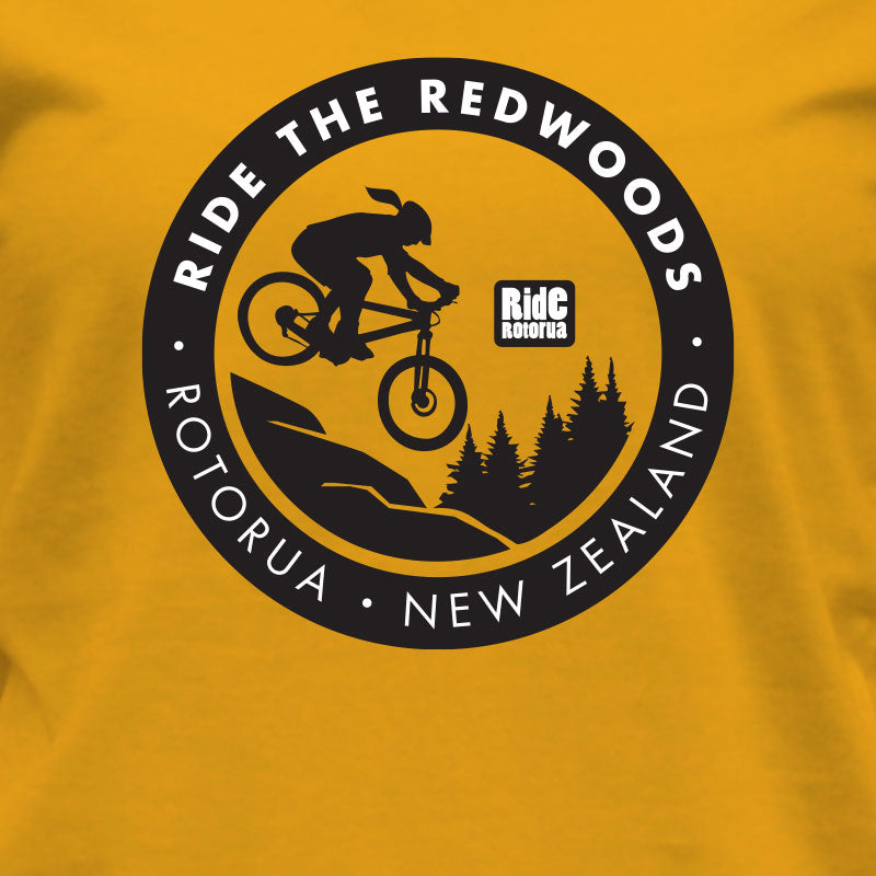 RR Womens Ride the Redwoods T