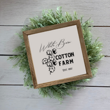 Load image into Gallery viewer, White Barn Cotton Farm Reusable Stencil