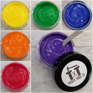 TTCO Chalk Paste Project 6 Pack | Rainbow