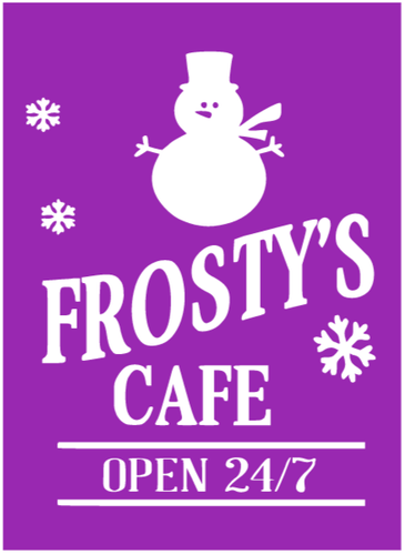 Frosty's Cafe Project KIT *LOCAL PICKUP/DELIVERY ONLY