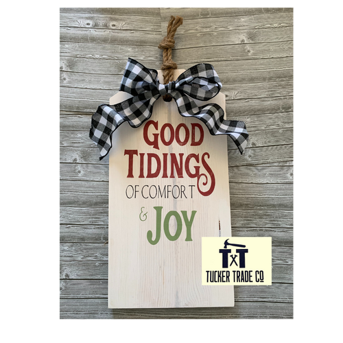 Workshop Pack- Good Tidings Project KITs *LOCAL PICKUP/DELIVERY ONLY