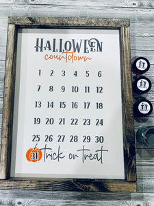 Holiday Countdown Add-On | Halloween