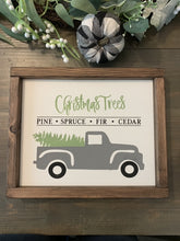Load image into Gallery viewer, Reversible Holiday Truck Sign DIY KIT