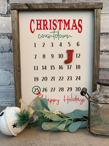 Add-On Countdown Christmas Stencil Bundle