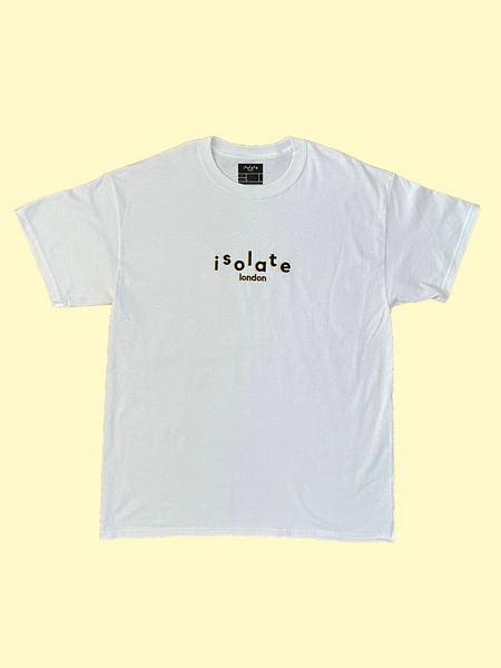 CORE WHITE T-SHIRT - isolateldn